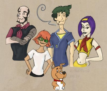 Scooby Bebop by Rabid-Turtle