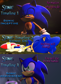 Sonic Reminiscent Timelines by shadow759