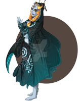 Midna Request by FeatherNotes