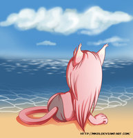 Staring at the sea by Mm38