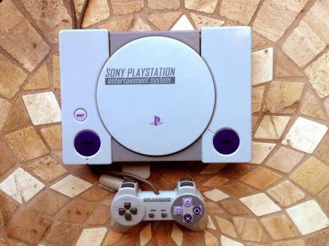 PS1 paint job. by NickBounty