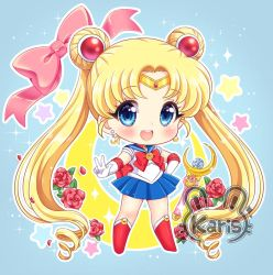 Sailor moon chibi by KARIS-coba