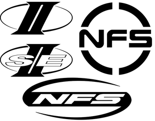 Classic Monochrome Vector NFS Icons by AJ-Lethal