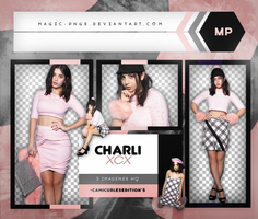 PACK PNG 461| CHARLI XCX by MAGIC-PNGS