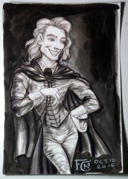 Gilderoy Lockhart Painting by feliciacano