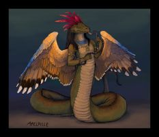 The Serpent King by apeldille