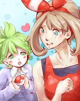 Wally and May Doodle by Mochiibon