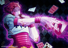 Hisoka 2011 version by LestatHallwardHolmes