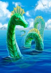 Sea Serpent. Fantastic beasts, where to find them by maryquiZe