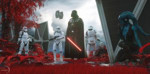 Star Wars - The Ambush by Dylan-Kowalski