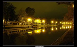Night Time-The... by MrDobanda by Timisoara