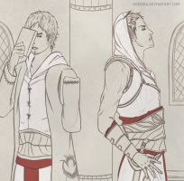 Assassins Creed - Altair and Malik by Dgesika