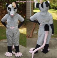 Amy Possum Fursuit by LobitaWorks