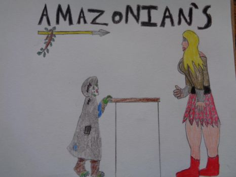 Amazonian's by woodywoodwood
