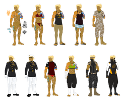 Jo outfits (SH AU) by snakes-on-a-plane