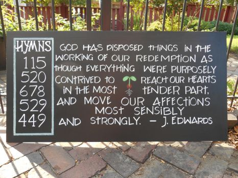 September Chapel Chalkboard by GetToTheLibrary