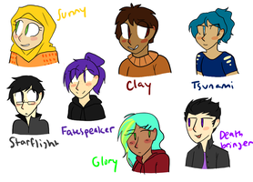 dragonet humans redone by stArchaeopteryx