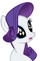 Rarity - Diamonds in Her Eyes by Orschmann