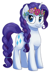 Rarity Braidpostershade by BananimationOfficial