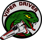 Battlestar Galactica Viper Driver Flight Patch by viperaviator
