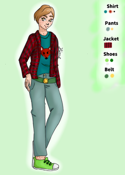Devan's new outfit (Contest entry) by HimeVargas