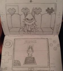 WarioWare: Comic Universe (Jolteon) by real-angelthegamer