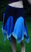 Blue Dance Skirt by Goldenspring