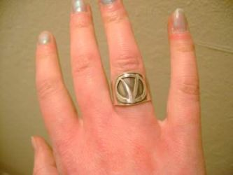 Metal Work: V ring 1 by abbey1normal