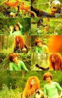 Merida meets Hiccup (with video!) by shua-cosplay
