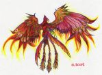 Phoenix .-+rebirth+-. by suzumetori
