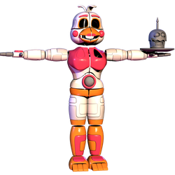 Funtime Chica V4 But It's Just The Suit by The-Smileyy