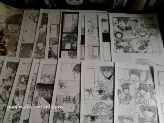 Manga project for a contest (finished) by yoolin