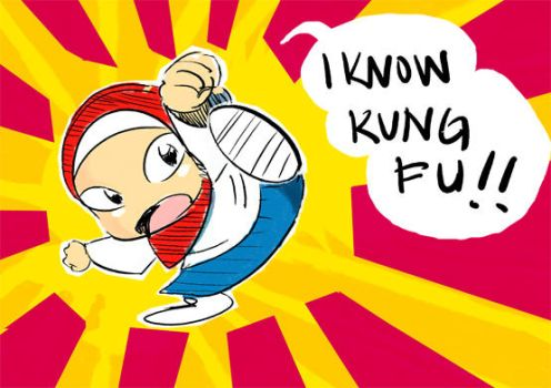 I know Kung Fu by Pixi-san