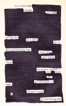 Blackout Poetry 3 by ClassyWalruses