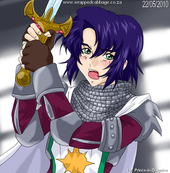 Athrun - K is for Knight by Prince-in-Disguise