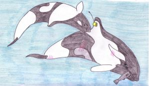 AT: Little begger by Orcas-of-Arlinde