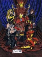IronMan's Ladies by CJRogue