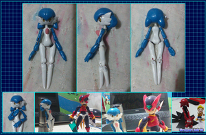 Fan Made Figuarts style Gardevoir figure (WIP) by Gregarlink10