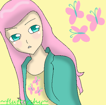 Fluttershy Anime by theshadowpony357
