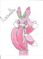Lurantis (FULL Color) by MischivRalts