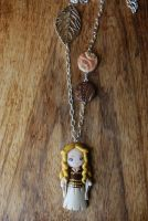 Eowyn L.O.R fimo necklace by Libellulina