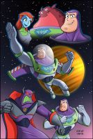 buzz lightyear by stevesafir