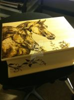 Jewelry box by paperhorses