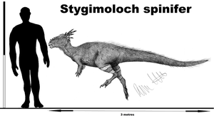 Stygimoloch spinifer by Teratophoneus