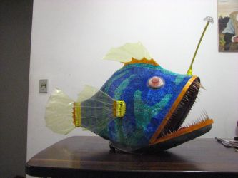 Angler Fish Mask by helderdarocha
