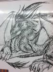 Close up of the last dragon by sirkles