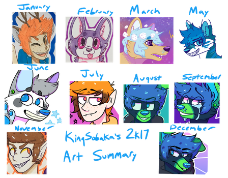 art summary 2k17 by KingSobaka