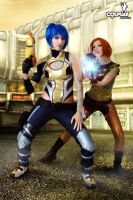 The girls of Borderlands by cosplayerotica