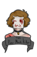 Paper mask killer Icon by Qu-Ross
