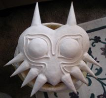 Old Majora's Mask - unpainted by HylianJean
